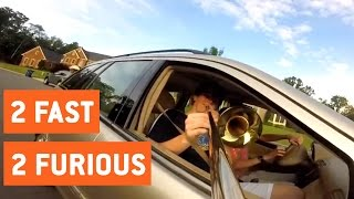 Trombonist Pretends To Be Muffler | Shifting Gears