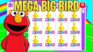 elmo trades mega neon big bird (adopt me)