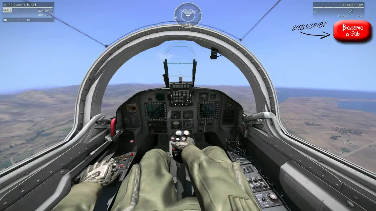 ArmA 3 | How to fly a Jet | Basic Tutorial