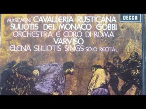 Cavalleria Rusticana; Souliotis, Del Monaco, Gobbi & Varviso; 1967