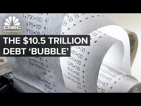 Behind The Corporate Bond Market's $10.5 Trillion Debt 'Bubble'