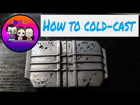 DDG: Nova Props How to Cold-Cast props, casting, finishing and weathering