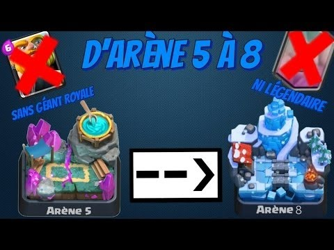 Clash royale meilleur deck pour monter arene 8 youtube for Clash royale meilleur deck arene 7