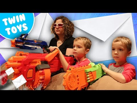 Nerf War:  Mail Time Mayhem 17