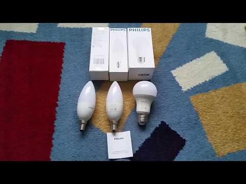 Xiaomi Philips умная лампочка (обзор 2 версий)