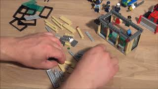 Lego City 60140 Police Bulldozer Break - Part 2 of 2 : Bank