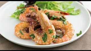 蒜蓉牛油虎蝦 Garlic Butter Prawns