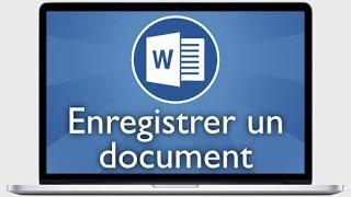 Enregistrer un document Word sur Mac