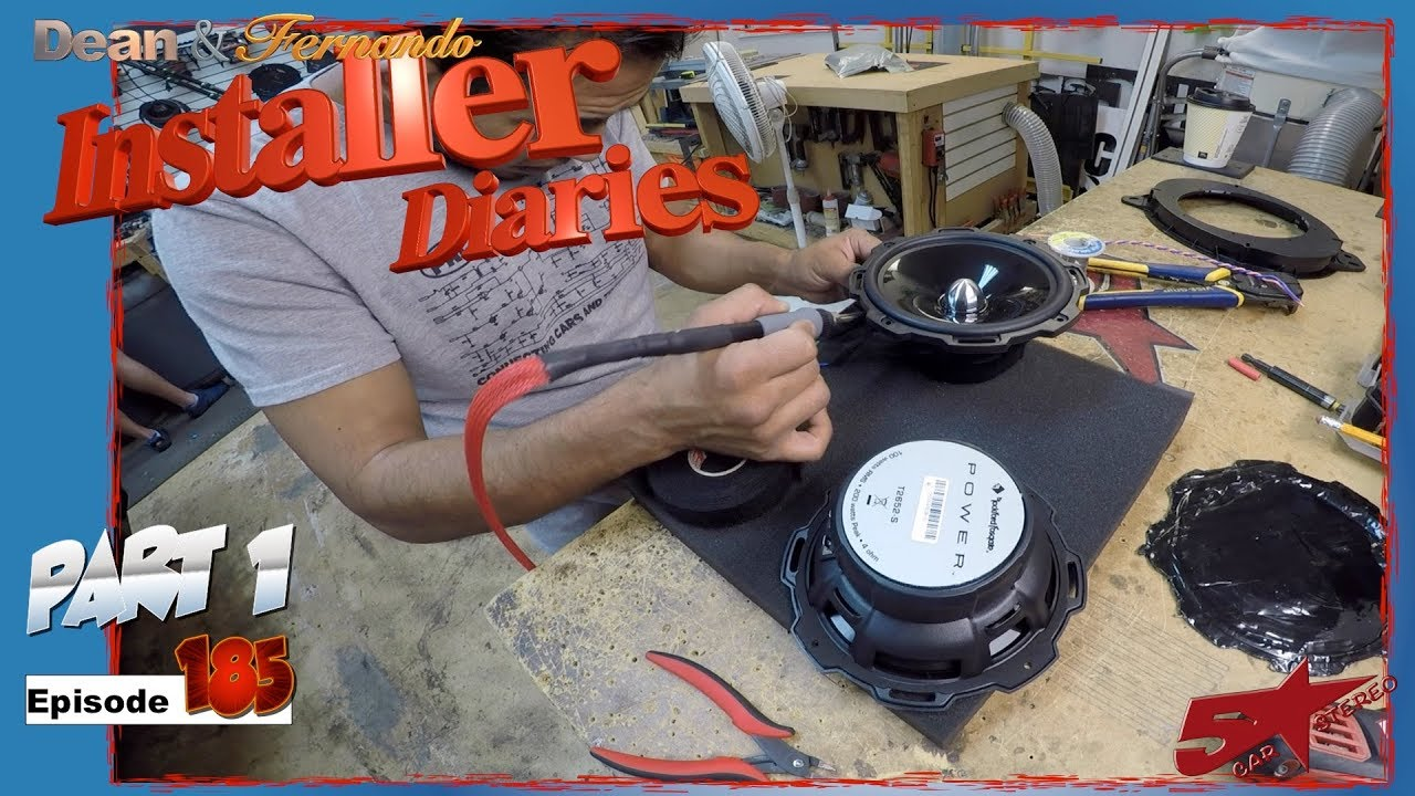 We start a full audio upgrade in a Toyota Tundra Installer Diaries 185 part 1