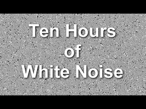 White Noise  Ten Hours - Ambient Sound - Masker