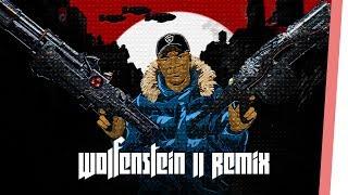 BIG SHAQ - MAN'S NOT HOT (Wolfenstein 2 Remix) - Ingame Sound Collage