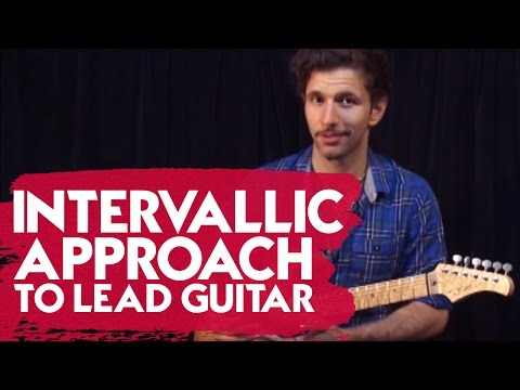 Intervallic Approach to Lead Guitar
