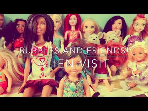Bubbles and Friends - Alien Visit! - UFO!