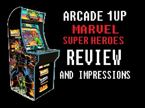 Arcade 1up Marvel Super Heroes Cabinet Review from Turbo Zone