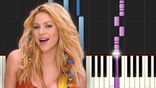Waka Waka / Shakira / Piano Tutorial