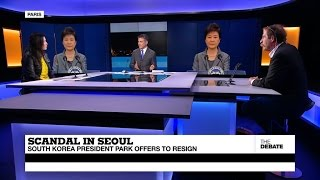 Scandal in Seoul  South Korea President Park Offers to Resign (part 1)