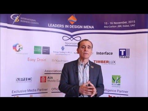 Issam Ezzeddine, Chief Architect, National Engineering Bureau (Speaker)