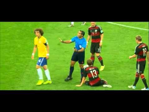 David Luiz vs Germany