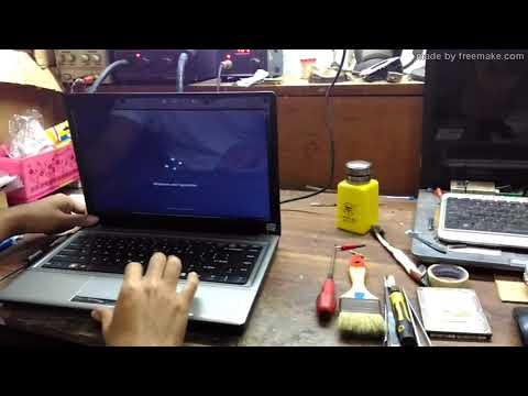 Service Laptop Hasee E450-Korsleting Mati Total