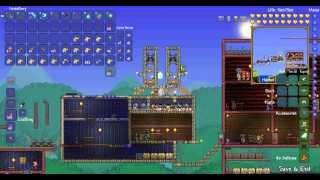 simple to build terraria fish farm make 2 platinum hour afk 1 crab engine 1 fish statue