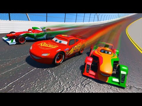 Race Disney Pixar Cars 3 Daytona Lightning McQueen Francesco Rip and Friends Driven To Win & Songs