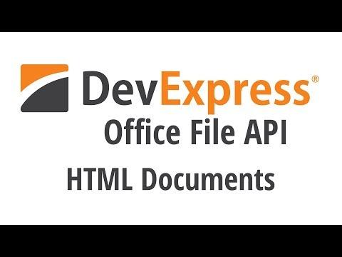 Office File API: HTML Documents