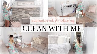 ULTIMATE RELAXING CLEAN WITH ME 2018!   SAHM CLEANING ROUTINE