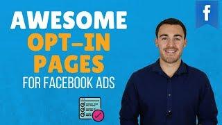 WIE ERSTELLEN SIE HIGH-CONVERTING-OPT-IN-SEITEN (FACEBOOK ADS)
