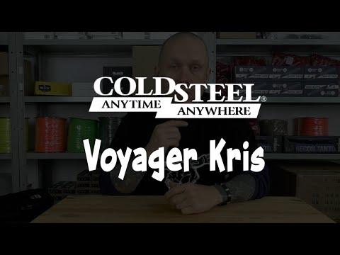 Нож Cold Steel Voyager Kris