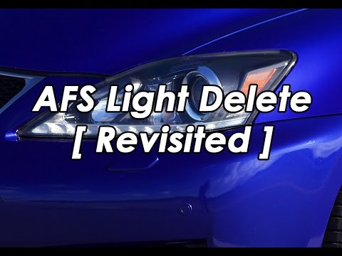 lexus afs sensor replacement