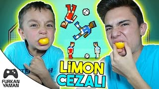 LİMON CEZALI FURKAN VS ENES - Soccer Physics Video
