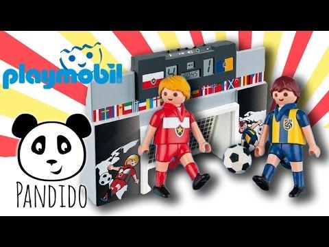 playmobil 4700 fu ballstadion spielzeug fussball spiele. Black Bedroom Furniture Sets. Home Design Ideas