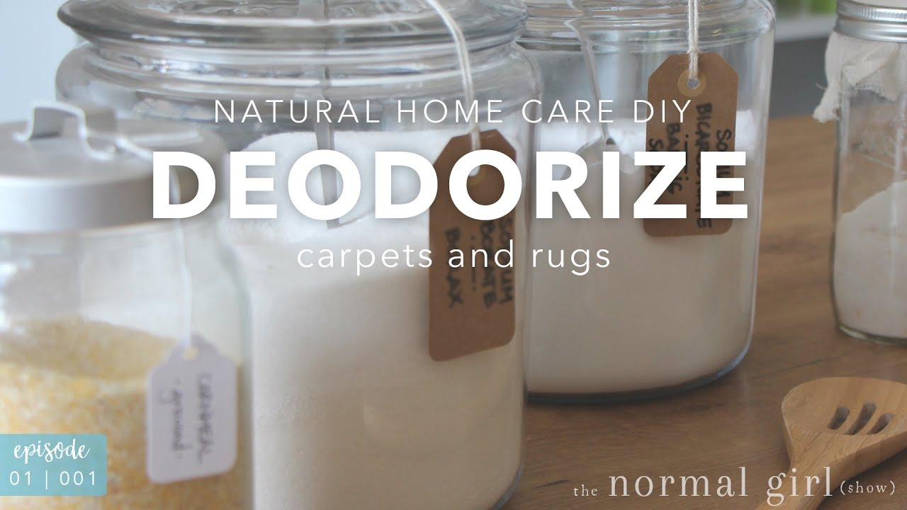 DIY: Deodorize Carpet and Rugs Naturally | The Normal Girl ...