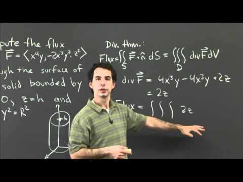 Flux and the divergence theorem | MIT 18.02SC Multivariable Calculus, Fall 2010