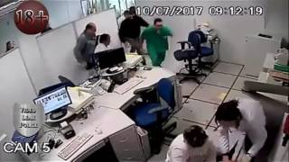 Brazil Bank Robbery All video Footages