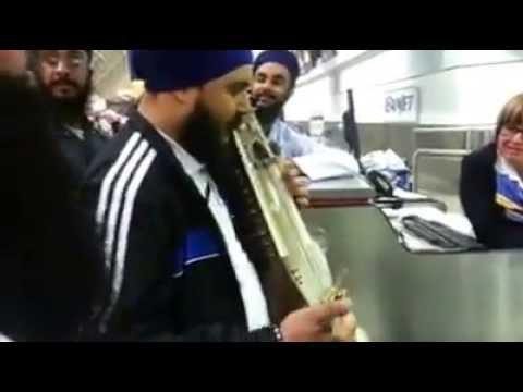 Sarangi Master Jatinder Singh Shergill Woos Toronto Airport Staff