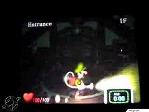 Luigis Mansion E3 2001 Walkthrough Clip1
