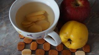 Компот из айвы и яблок/Сompote of apples and quinces