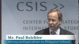 Recent Trends in the South China Sea and U.S. Policy: Day 2 Welcome and Keynote