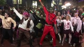 """""""Thriller"""" flash mob Boulder CO 10/28/17"""