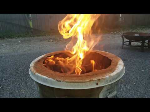 $26 DIY Solo Stove Bonfire Smokeless Fire Pit