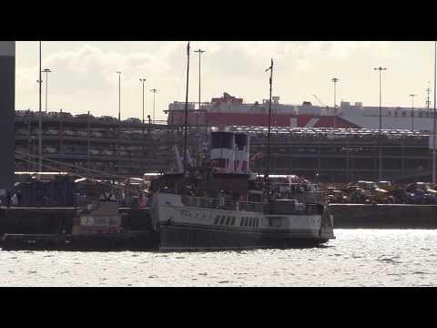 Paddle Steamer - PS Waverley Southampton for Coastal Cruise 9/9/17