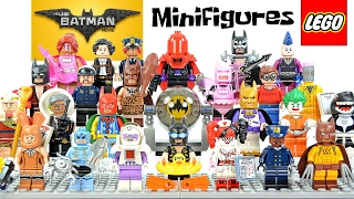 The LEGO® Batman Movie Minifigure Series plus Accessory Set w/ Disco Batman & Tears of Batman 30607