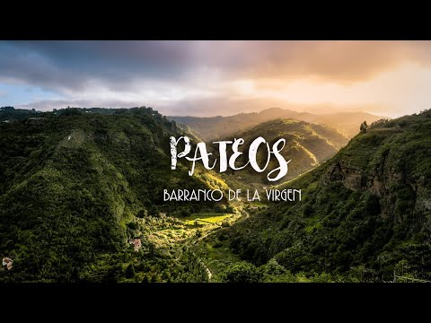 PATEOS : Barranco De La Virgen (Valleseco)