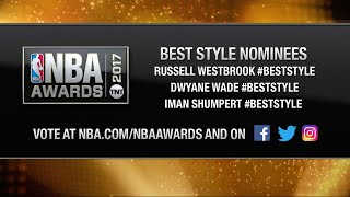 NBA Awards: Best Style Nominees