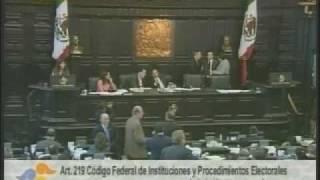 27 mayo 09  Senadora Beatriz Zavala Peniche