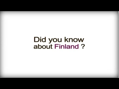 Finland Did you know? - Finland - Finnish Business Culture video