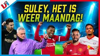 Suley Over Mourinho, Messi, Wijnaldum, Kluivert, Bruno Fernandes, Mbappé En Meer! (Hele Uitzending)