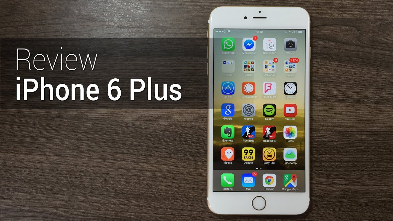 Análise iPhone 6 Plus Review do Tudocelularcom YouTube