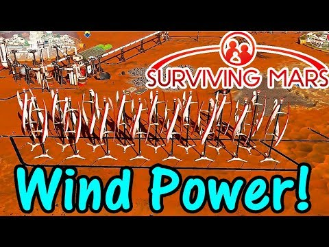 Let's Play Surviving Mars #7: Clean Power!